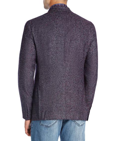 Boucle Alpaca-Wool Blazer