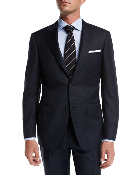 Check Super 130s Wool Two-Piece Suit