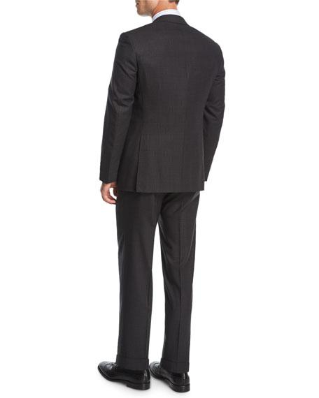 Check Impeccabile Super 140s Wool Two-Piece Suit