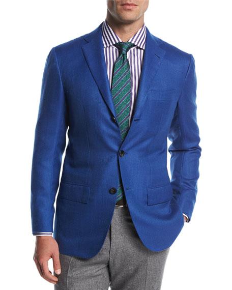 Kiton Textured Cashmere Sport Coat