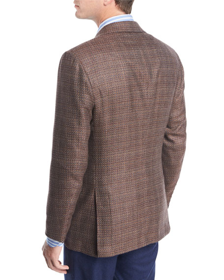 Tic Cashmere Three-Button Sport Coat