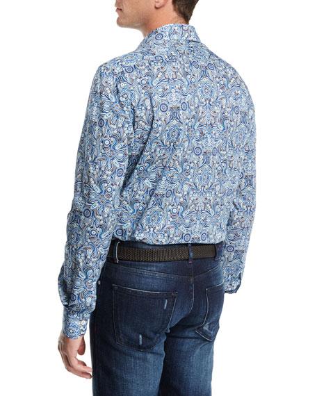 Paisley Cotton Shirt