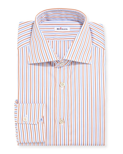 Striped Cotton Dress Shirt