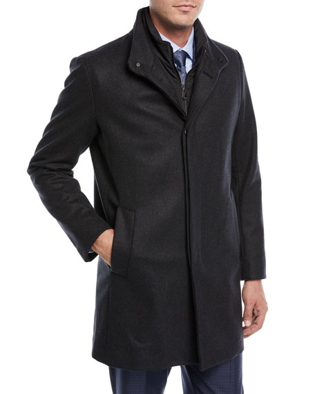 3-in-1 Wool-Blend Coat