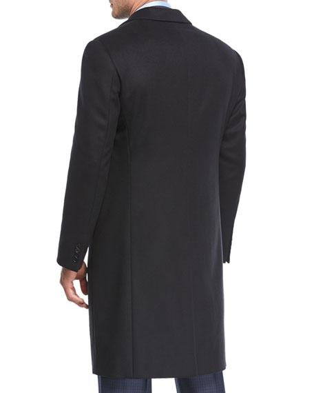 Wool-Blend Top Coat