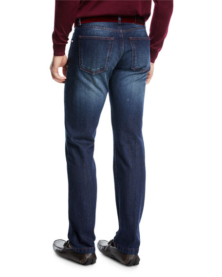 Limited Edition Straight-Leg Jeans