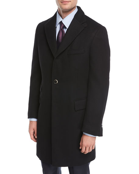 Wool Double-Layer Topcoat
