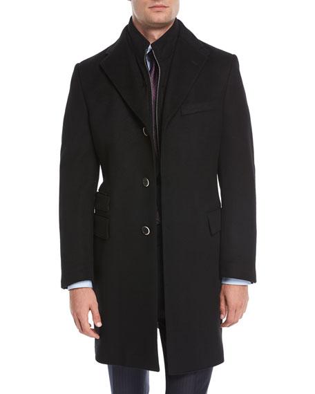 Wool Double-Layer Topcoat