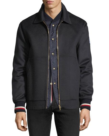 Moncler Gamme Bleu 2-in-1 Shirt Jacket