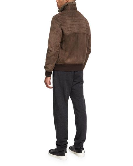 Lambskin Shearling Jacket