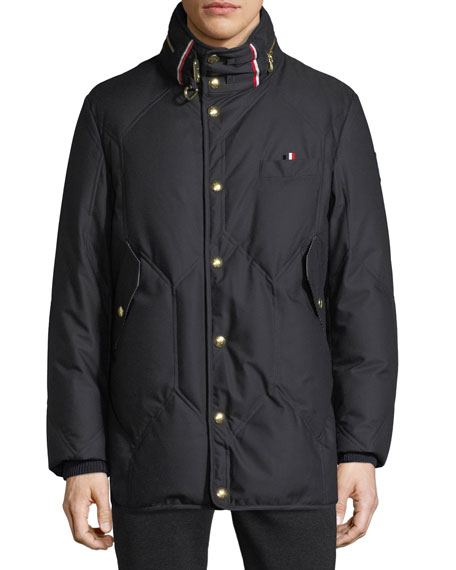 NAVY JACKET WOUT FUR