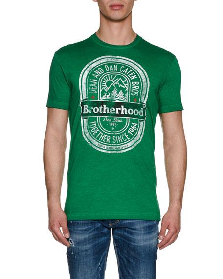 Brotherhood Cotton Logo T-Shirt