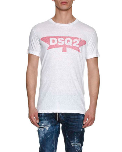 DSQ2 Cotton Logo T-Shirt