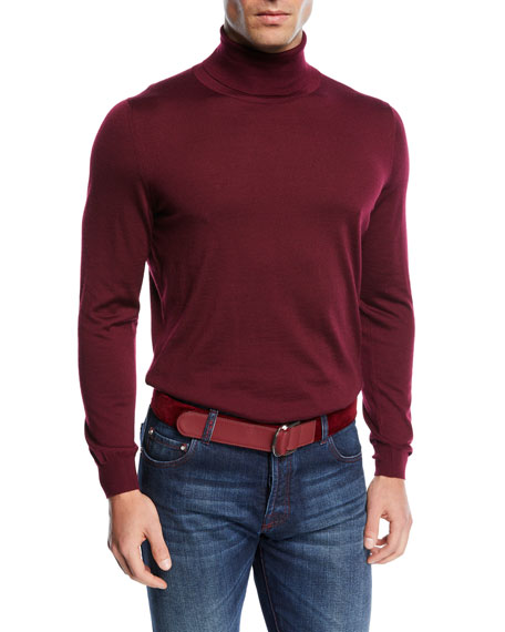 Kiton Cashmere Turtleneck Sweater