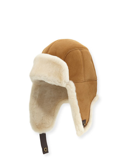 UGG Australia Men's Shearling Trapper Hat