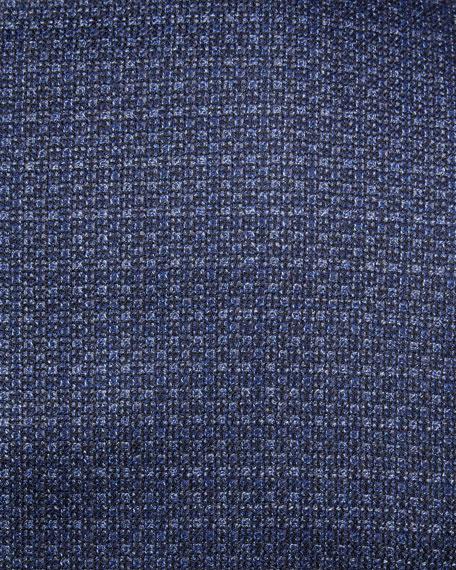 Textured Satin-Lapel Dinner Jacket