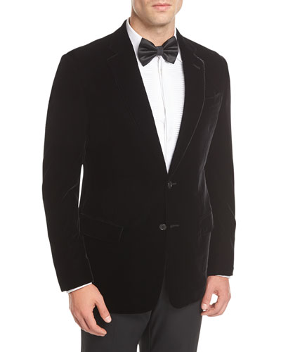 Stretch-Velvet Sport Coat