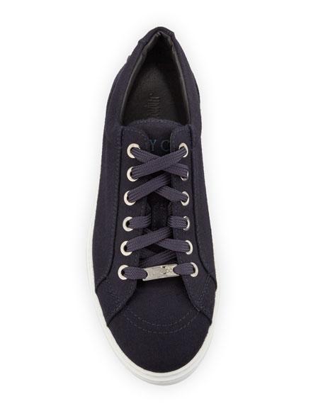 Men's Star-Stud Flannel Low-Top Sneakers