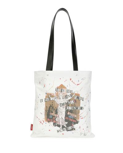 Punk Cotton Canvas Tote Bag