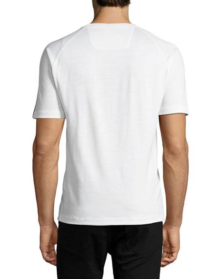 Techmerino Jersey Short-Sleeve T-Shirt, White