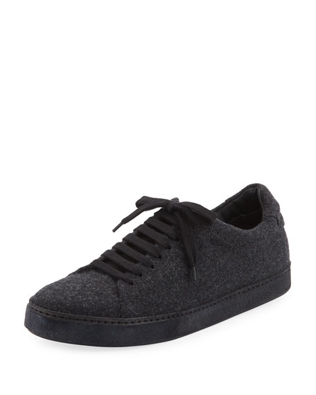 Vince Noble Wool Lace-Up Platform Sneaker