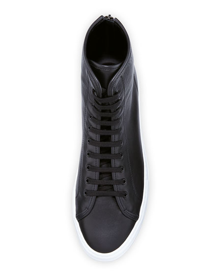 Men's Tournament Leather High-Top Sneaker