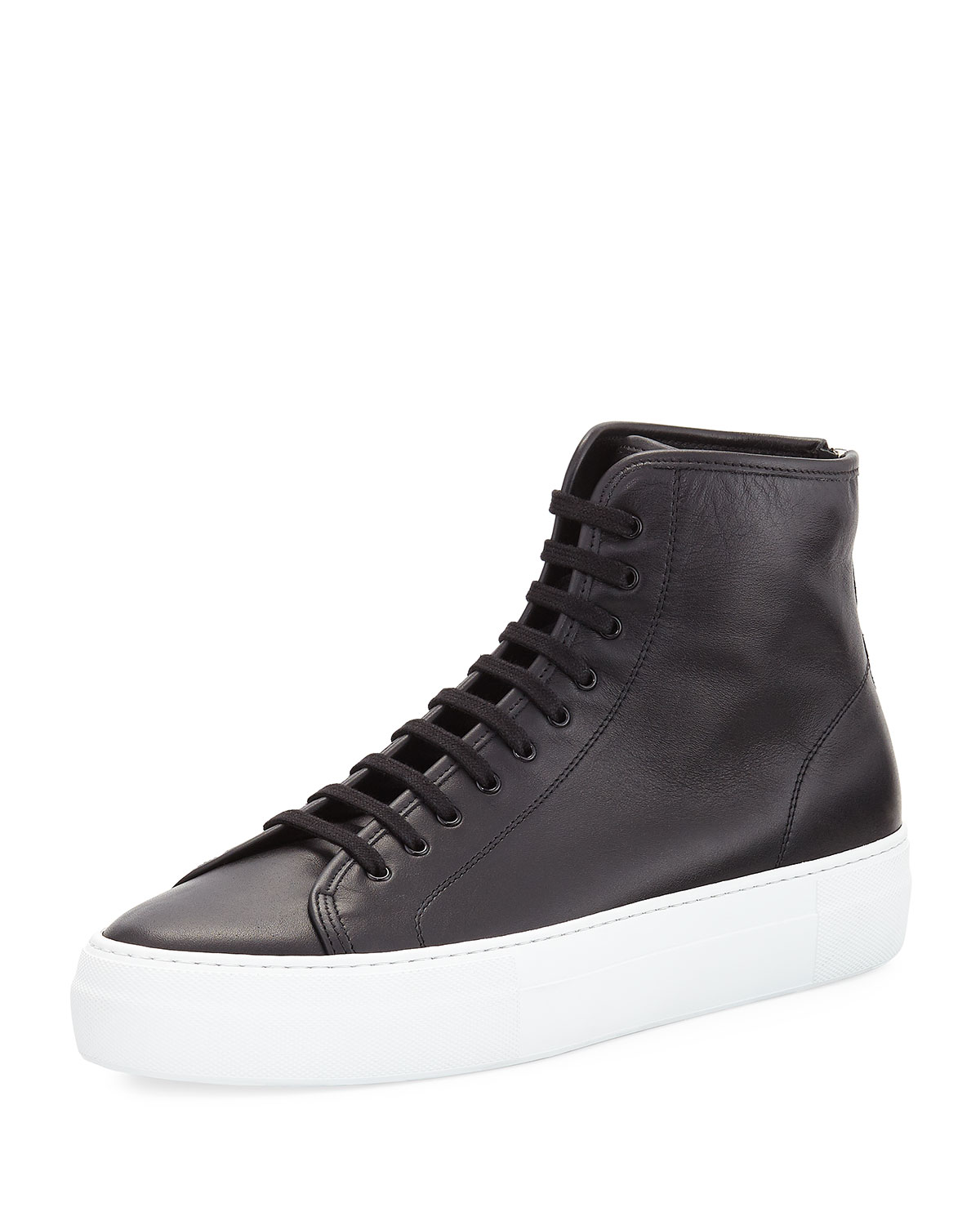 Mens Tournament Leather Sneakers Common Projects FBuvRySN6q