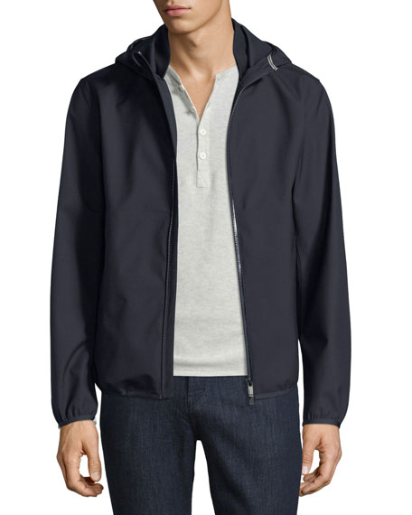 Techmerino Hooded Jacket