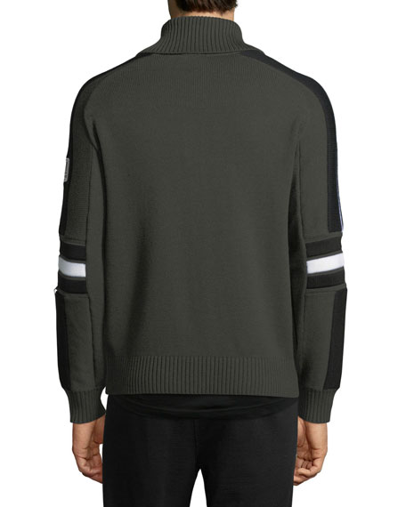 Techmerino Wool Full-Zip Sweater