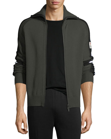 Techmerino Wool Full-Zip Sweater