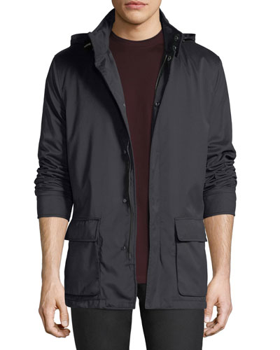 Two-Pocket Mid-Weight Jacket