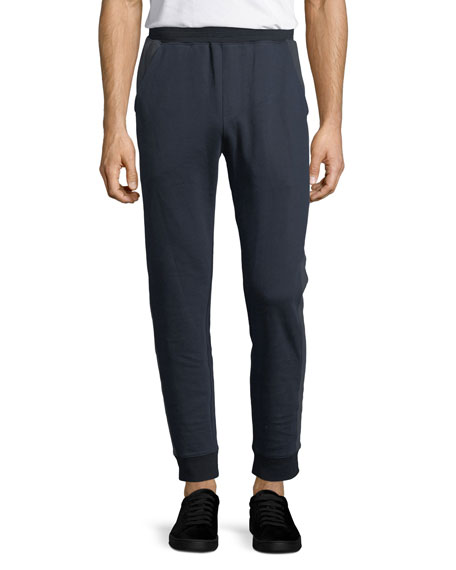 ATM Anthony Thomas Melillo Double-Knit Cotton Jogger Pants