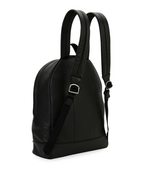 Hingis Studded Leather Backpack, Black