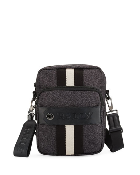 Bally Skyller Men's Nylon Crossbody Bag
