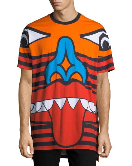Givenchy Columbian-Fit Totem Print T-Shirt