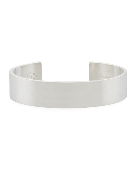Le 41 Grammes Brushed Sterling Silver Cuff