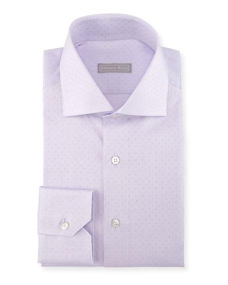 Tonal Square Dress Shirt