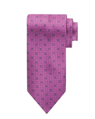 X-Print Silk Tie