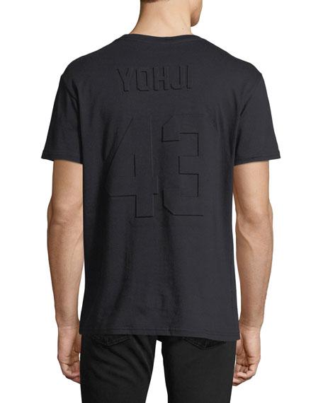 Yohji 43 Embossed-Back T-Shirt