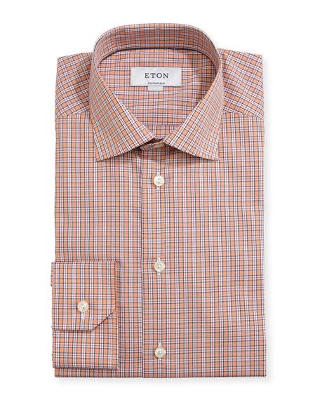 Contemporary-Fit Check Dress Shirt