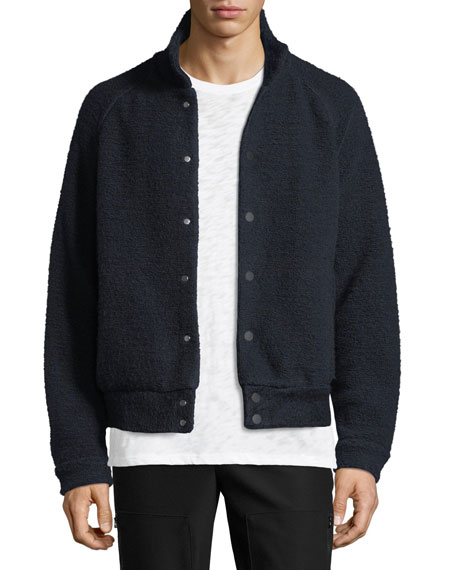 ATM Anthony Thomas Melillo Boucle Bomber Jacket