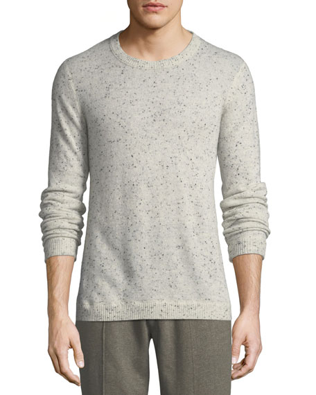 ATM Anthony Thomas Melillo Donegal Cashmere Crewneck Sweater