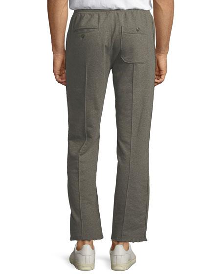 Brushed-Back Flannel Sweatpants