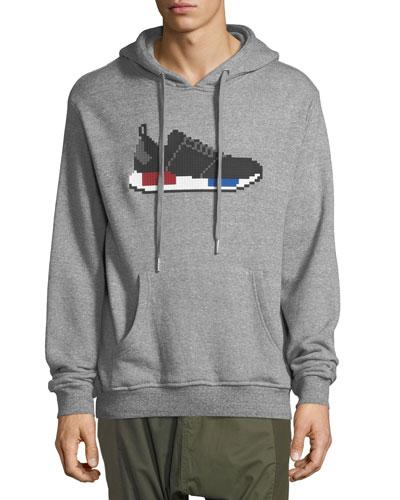 8-Bit Running Sneaker Hoodie