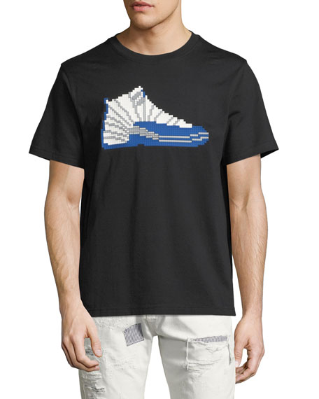 8-Bit High-Top Sneaker T-Shirt
