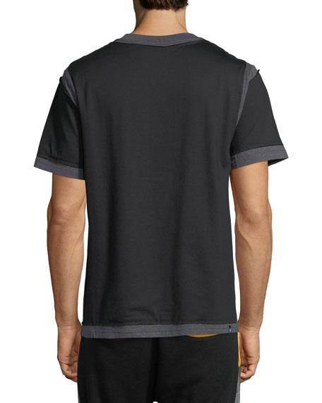 Deconstructed Logo T-Shirt