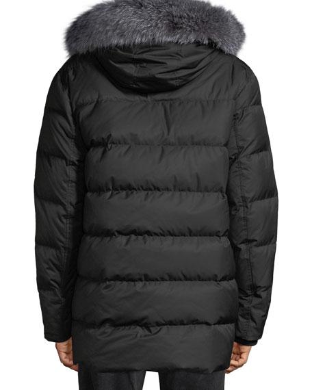 Alaska Fur-Trim Waterproof Parka