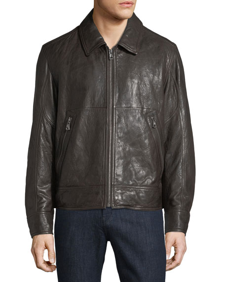Morrison Lambskin Leather Jacket