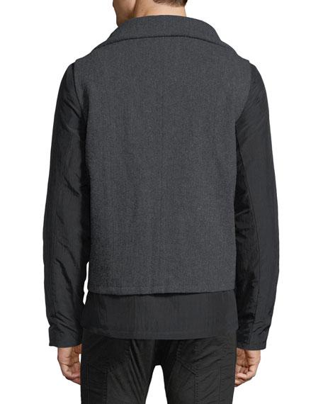 Double-Layer Full-Zip Jacket