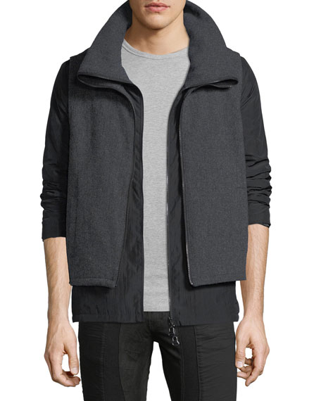 Double-Layer Full-Zip Jacket